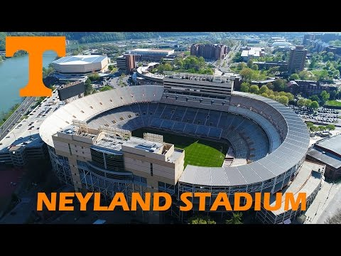 Ken Heron - Drone RANGE Demonstration and Neyland Stadium - Knoxville [4K]