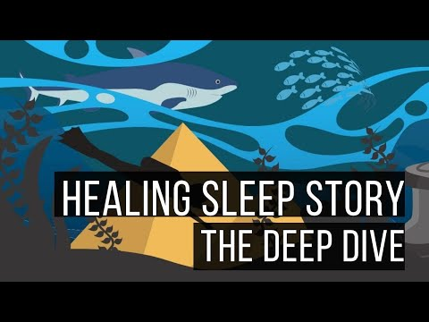 Ericksonian Hypnosis Storytelling: The Deep Dive: Bedtime Story To Help Overcome Anxiety