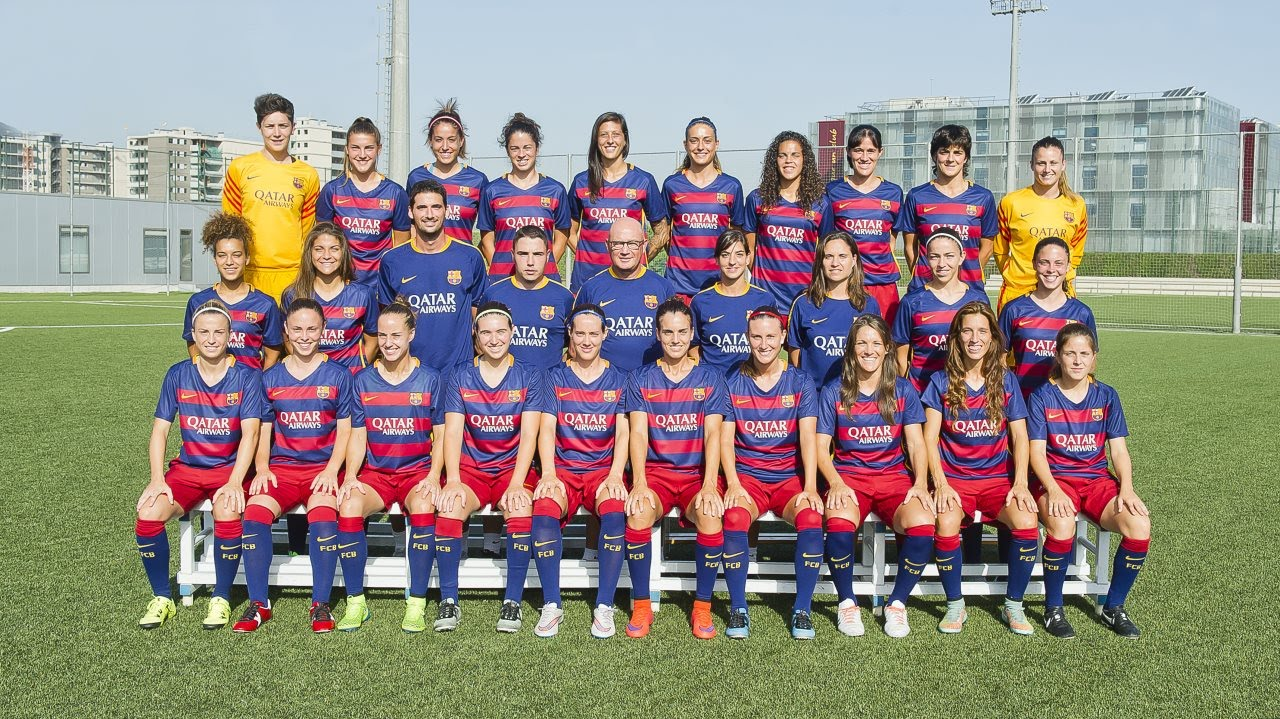 Fc barcelona women challenge for the champions youtube - Forlady barcelona ...