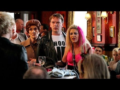 EastEnders 30th March 2012 - Shirley Carter Vs. Mandy Salter & Andrew Cotton