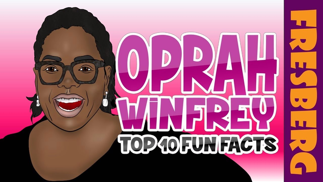 Black History for Kids: Fun Facts about Oprah Winfrey | Educational Videos for Students