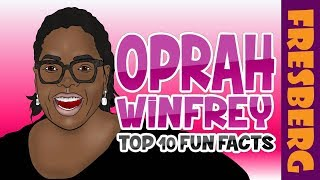 Black History for Students: Fun Facts about Oprah Winfrey | Educational Videos for Students