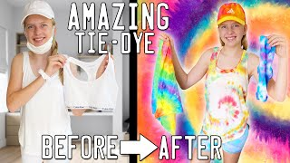 Making My Whole Wardrobe DIY Tie-Dye!