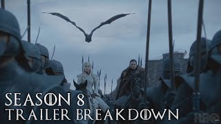 Game of Thrones Season 8 Trailer Breakdown and Explained