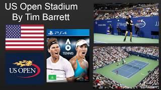 AO Tenis - Amerika Açık Stadyum Oluşturma