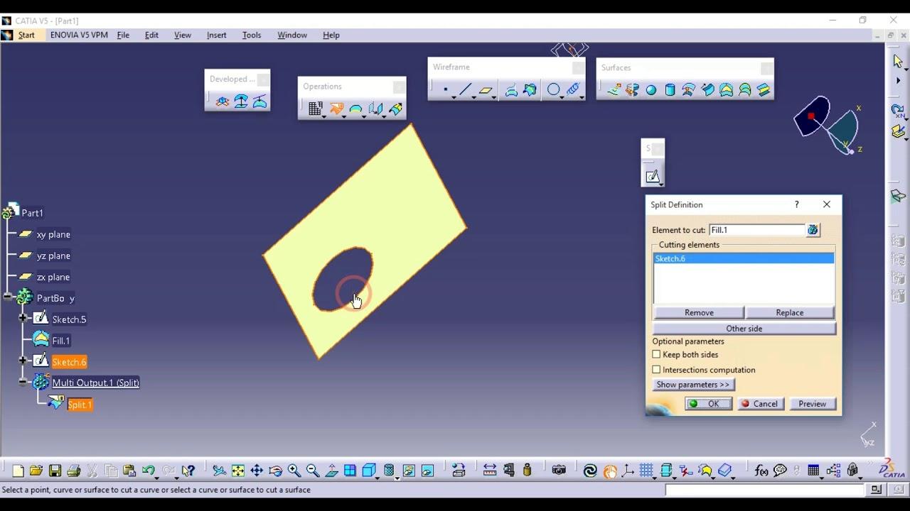 Catia V5 Wireframe Surface Design Tutorial Pdf