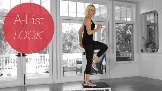 Bootylicious Step-Up Workout | A-List Look With Valerie Waters