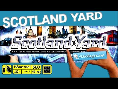 """La vidéorègle du jeu """" Scotland Yard """" par Yahndrev (#560)"""