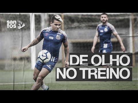 SANTOS TREINA PARA ENCARAR O VASCO | DE OLHO NO TREINO (02/10/19)
