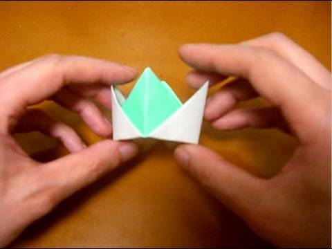Origami Crown Youtube