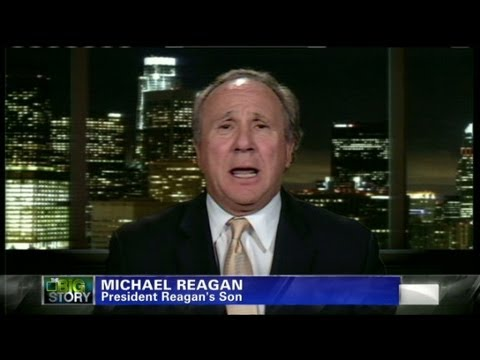 Michael Reagan opens up about abuse