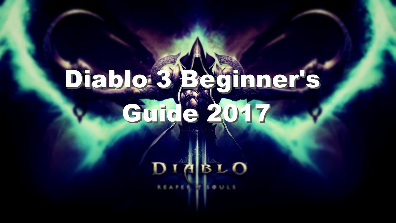 Diablo 3 seasons beginners guide.