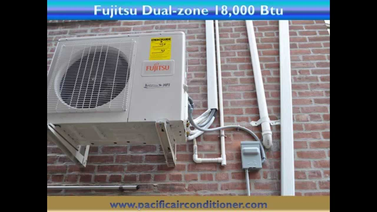 Installation Of Fujitsu Ductless Air Conditioning Heat