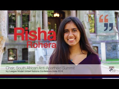 Webinar with Risha Rohera - Committee Procedures/Rules for Crisis Committees