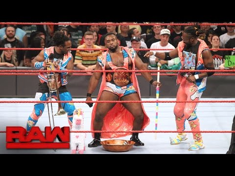 The fully functional New Day have a ball after SummerSlam: Raw, Aug. 22, 2016