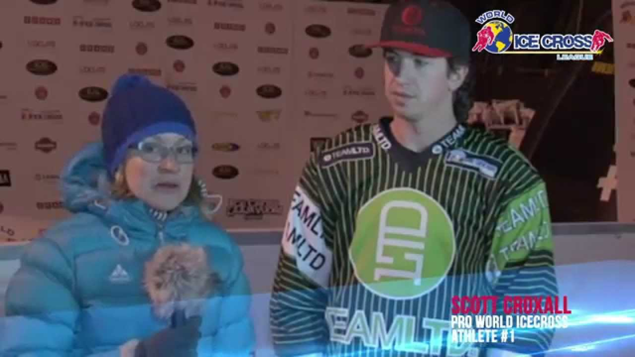 World Ice Cross League - Interview - Scott Croxall