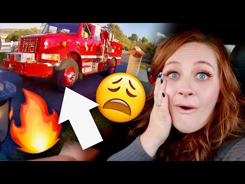 WHAT WENT WRONG?! 🚒 Fire Department shows up!