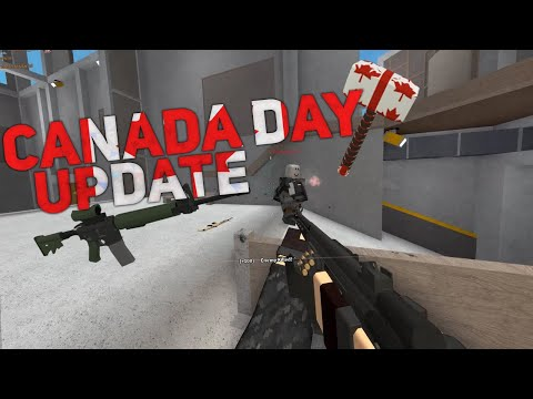 Phantom Forces Canada Day Update Youtube