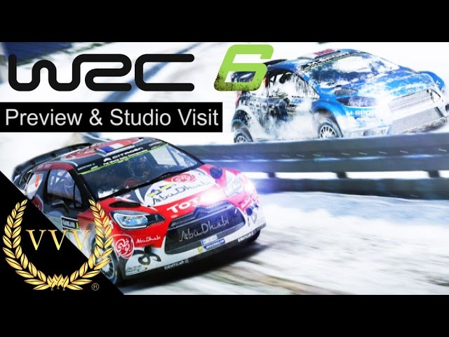 WRC 6 Preview and Kylotonn Studio Visit