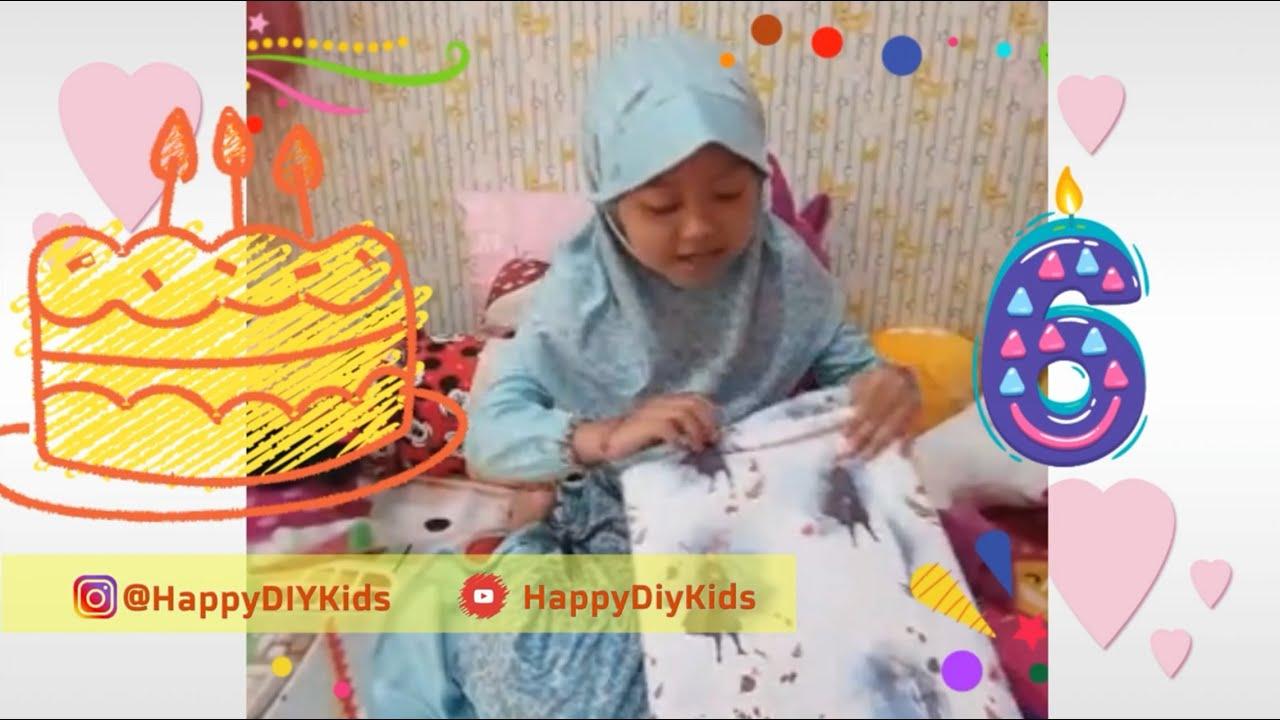 Happy Birthday ke 6 ya Geng's - Aziza Citra Ramadhani #HBD #Ultah #HappyBirthday #Happydiykids