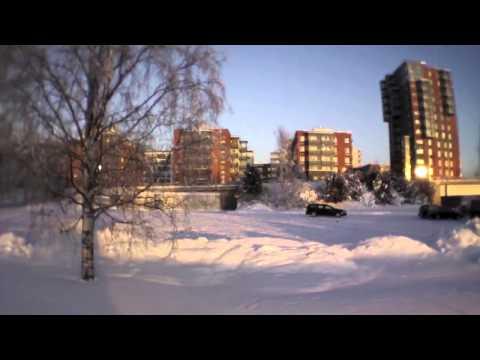 Jyväskylä Finland winter AR Drone 2.0