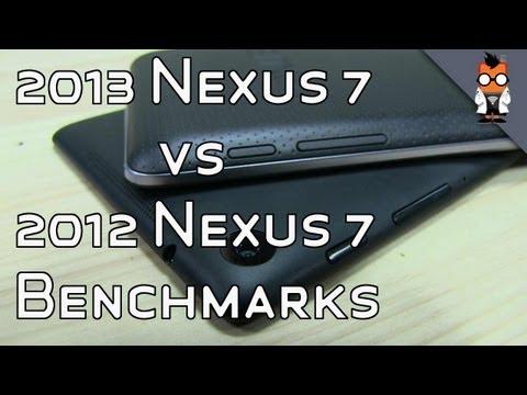 New Nexus 7 vs 2012 Nexus 7 - Benchmarks