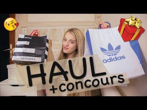 [ Haul #3 ] Parisien : Adidas, Sephora, H&M, V-Inc + CONCOURS (fermé)de YouTube · Durée:  17 minutes 17 secondes