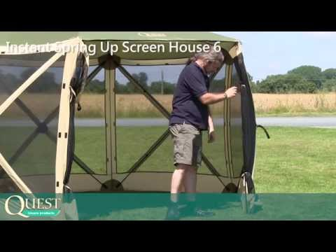 Screen House 6 - Full Instruction