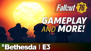 Fallout 76 E3 2018 Stage Show and Gameplay Presentation | Bethesda Press Conference