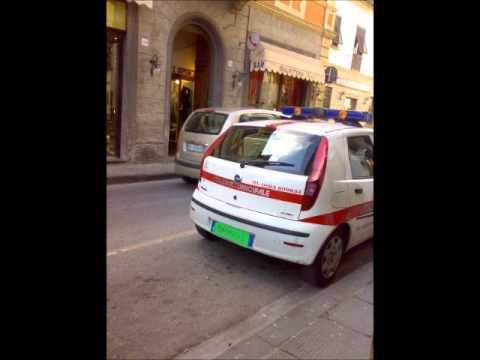 I Vigili di Bagni di Lucca ci stanno sul  YouTube