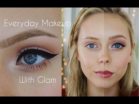 Simple Everyday Makeup With Glam | Cosmobyhaley