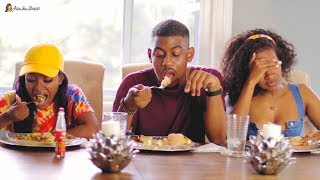 Real Jamaican Food MUKBANG! (Curry Goat & Oxtail) | PETITE-SUE DIVINITII