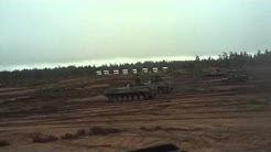 Mekanisoidun taisteluosaston hyökkäys kuvattuna BMP-2:sta
