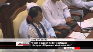 Suu Kyi speaks out