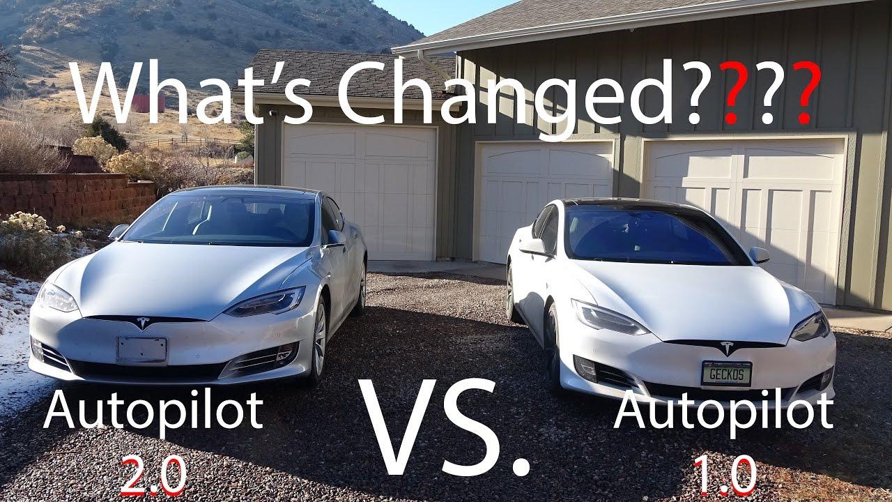 Tesla Model S Autopilot 10 Vs 20 Whats Changed
