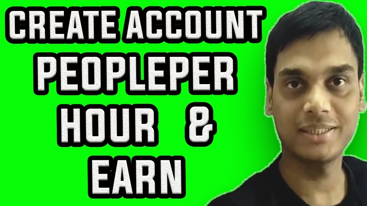 how to create account on peopleperhour