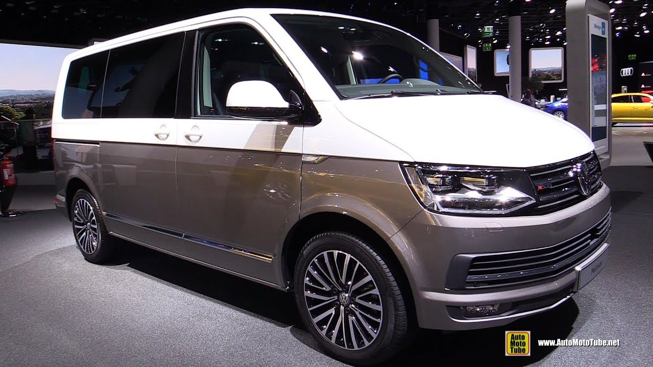 2018 Volkswagen Multivan Exterior And Interior Walkaround 2017 Frankfurt Auto Show