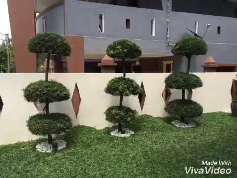 Hiasan Taman Rumah Teres Kos Sederhana