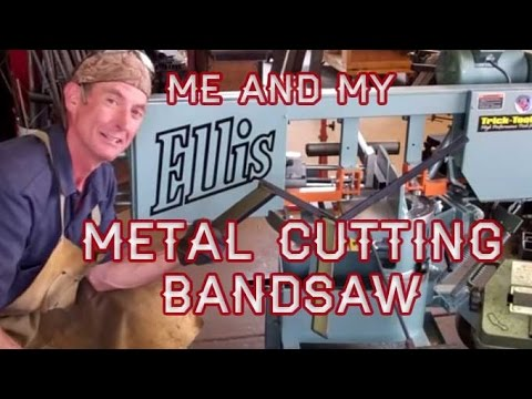 Me and My Ellis 1600 Metal Cutting Bandsaw by Mitchell Dillman