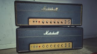 Marshall ORIGINAL Plexi Vs REISSUE