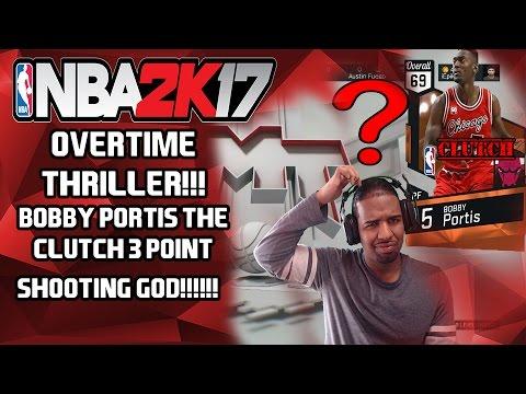 OVERTIME THRILLER!!!! BOBBY PORTIS!!!! NBA 2K17- MY TEAM