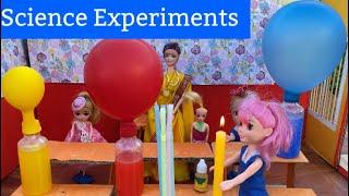 மண்வாசனை - Episode 113 - Amazing Science Experiments - Balloon Water Pump, Water Rising, Toothpick