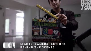 Lights, Camera, Action! | Killing Eve | BBC America