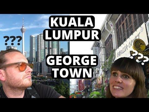 MALAYSIA TRULY ASIA - KUALA LUMPUR To George Town PENANG - Malaysian Travel Day