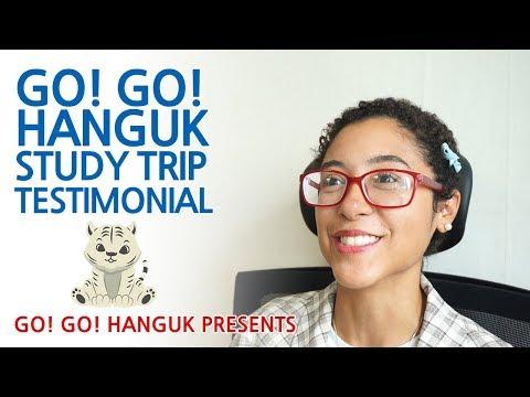 Go! Go! Hanguk Study Trip Testimonial - Cristina