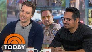 Michael Peña, Dax Shepard Talk 'CHiPs' Reboot, Male Nudity On Screen | TODAY