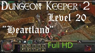 "Dungeon Keeper  2 (HD) - Final Level ""Heartland"" (includes secret dark angel)"