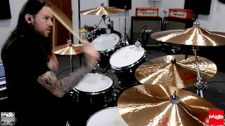 PAISTE CYMBALS - Chris Allan - 2002 Extreme Crashes (Demo)