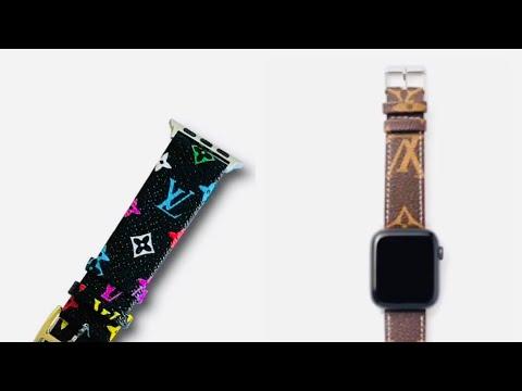 unboxing-cheap-louis-vuttion-apple-watch-bands-42mm