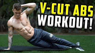 V Shred | 4 Minute Follow Along V Cut Abs Workout